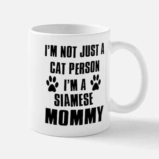 Siamese Cat Design Mug