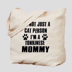 Tonkinese Cat Design Tote Bag