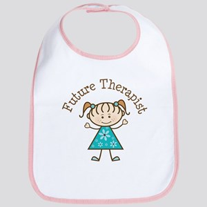 Future Therapist Girl Bib