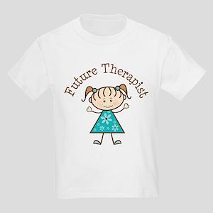 Future Therapist Girl Kids Light T-Shirt