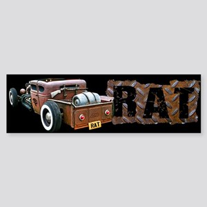 Rat Rod Truck Sticker (Bumper)