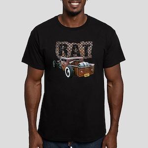 Rat Rod Truck Men's Fitted T-Shirt (dark)