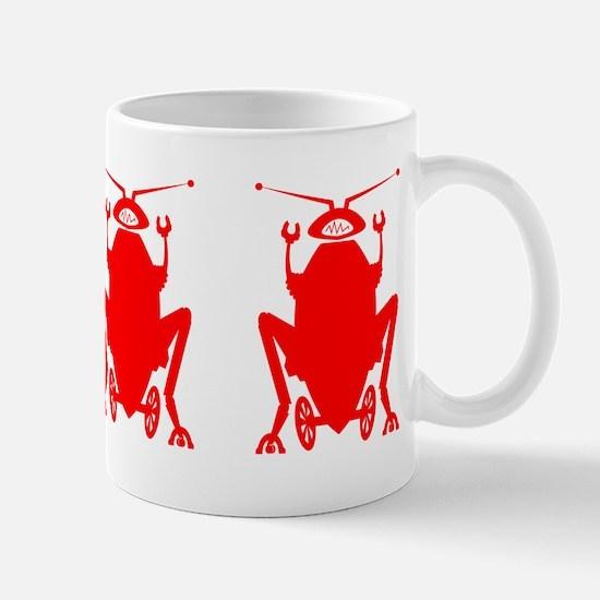 Buy Me 3 Red Roachbots Mug