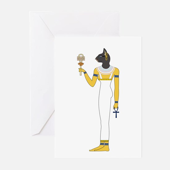 Unique Ancient gods Greeting Cards (Pk of 10)