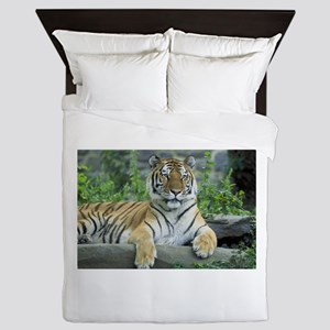 Lazy Tiger Queen Duvet
