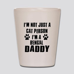 Bengal Daddy Shot Glass