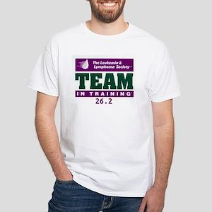 Team in Training - 26.2 White T-Shirt