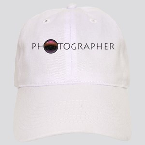 PHOTOGRAPHER-LENS-GREY- Cap