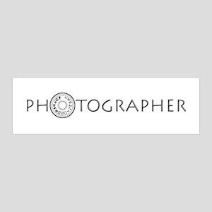 PHOTOGRAPHER-DIAL-GREY- 42x14 Wall Peel