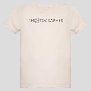 PHOTOGRAPHER-DIAL-GREY- Organic Kids T-Shirt