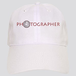PHOTOGRAPHER-DIAL-RED- Cap