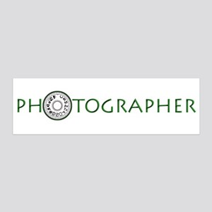 PHOTOGRAPHER-DIAL-GREEN- 42x14 Wall Peel
