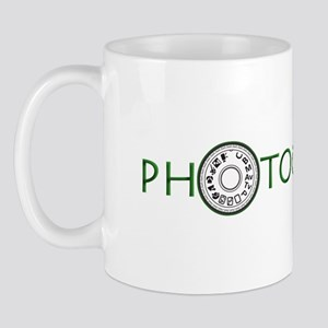 PHOTOGRAPHER-DIAL-GREEN- Mug