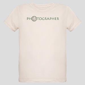 PHOTOGRAPHER-DIAL-GREEN- Organic Kids T-Shirt