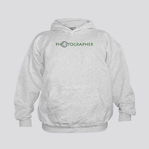 PHOTOGRAPHER-DIAL-GREEN- Kids Hoodie