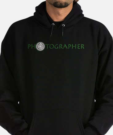 PHOTOGRAPHER-DIAL-GREEN- Hoodie (dark)