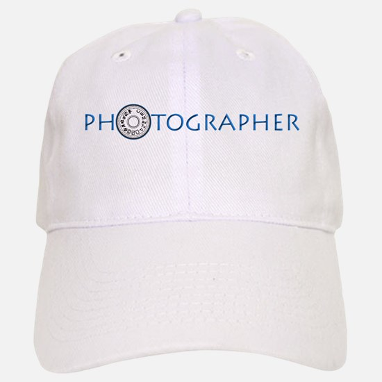 PHOTOGRAPHER-DIAL-BLUE- Baseball Baseball Cap