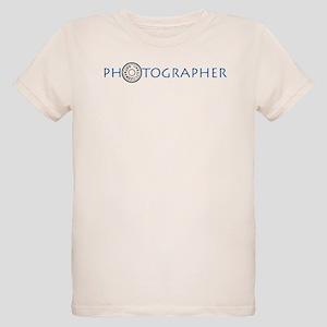 PHOTOGRAPHER-DIAL-BLUE- Organic Kids T-Shirt