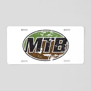 MTB Aluminum License Plate