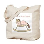 Rockabye Baby (white girl) Tote Bag