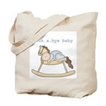 Rockabye Baby (white boy) Tote Bag