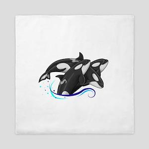 Orca Triple Jump Queen Duvet
