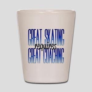 Great Coaching Shot Glass