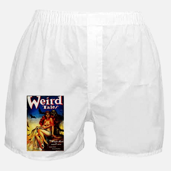 Weird Tales Magazine Boxer Shorts