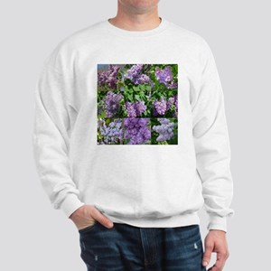 Lilac Collage #16 Sweatshirt