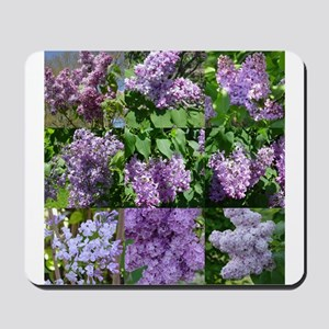 Lilac Collage #16 Mousepad
