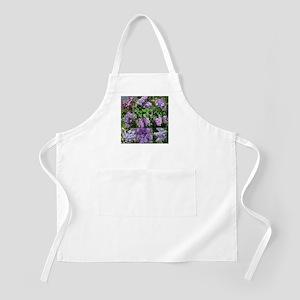 Lilac Collage #16 BBQ Apron