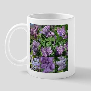 Lilac Collage #16 Mug