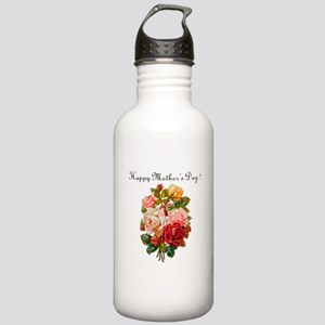 """""""Mother's Day Roses"""" Stainless Water Bottle 1.0L"""