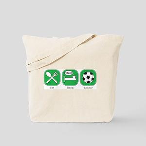 Eat Sleep SOCCER Tote Bag