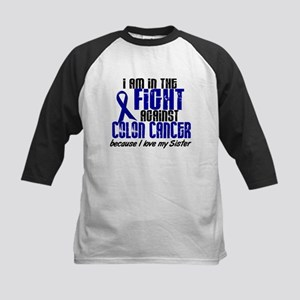 In The Fight Colon Cancer Kids Baseball Jersey