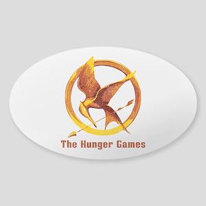 Hunger Games Vintage Sticker (Oval)