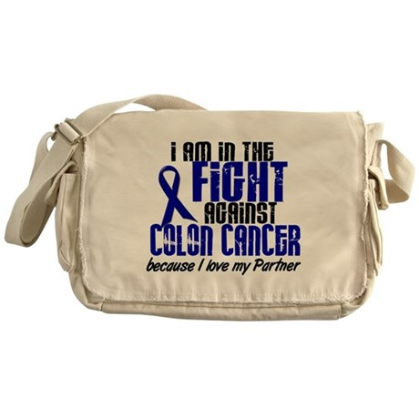 In The Fight Colon Cancer Messenger Bag