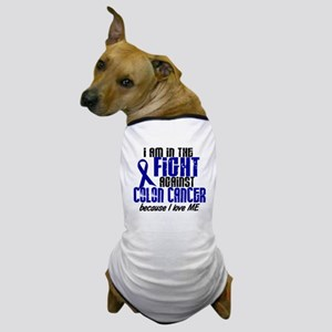 In The Fight Colon Cancer Dog T-Shirt
