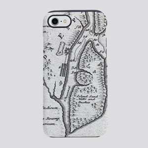 Vintage Map of St. Augustine F iPhone 7 Tough Case