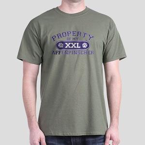 Affenpinscher PROPERTY Dark T-Shirt