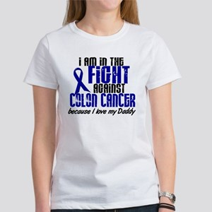 In The Fight Colon Cancer Women's T-Shirt