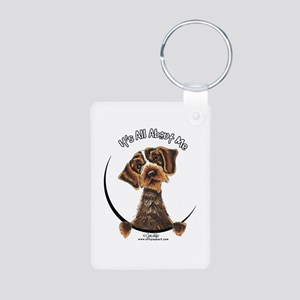 WH Pointing Griffon IAAM Aluminum Photo Keychain