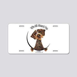 WH Pointing Griffon IAAM Aluminum License Plate
