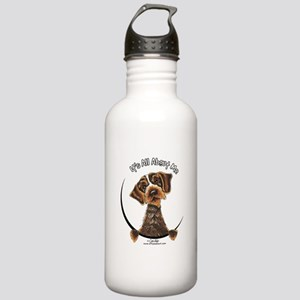 WH Pointing Griffon IAAM Stainless Water Bottle 1.