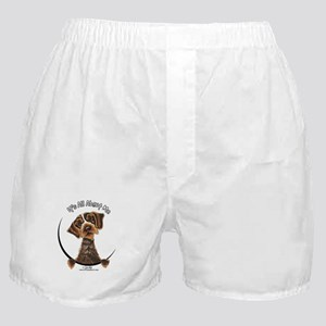 WH Pointing Griffon IAAM Boxer Shorts
