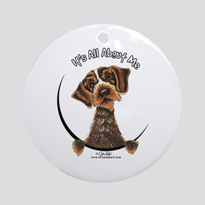 WH Pointing Griffon IAAM Ornament (Round)