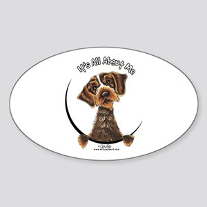 WH Pointing Griffon IAAM Sticker (Oval)