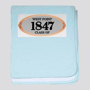 West Point Class of 1847 baby blanket