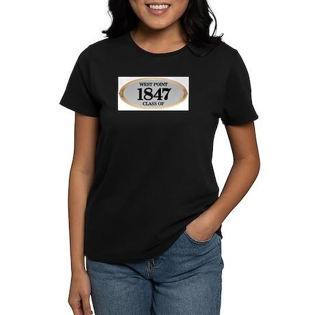 West Point Class of 1847 Women's Dark T-Shirt