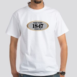 West Point Class of 1847 White T-Shirt